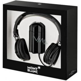 Montblanc Emblem eau de toilette for men 100 ml + headphones, gift set