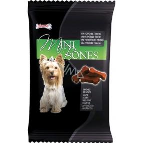 Mlsoun Mini Bones uzené doplňkové krmivo pro psy 50 g
