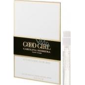Carolina Herrera Good Girl Légére parfémovaná voda pro ženy 1,5 ml s rozprašovačem, Vialka