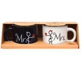 Pair Mini Mugs UNI NPH 004 Mr./Mrs.