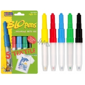 BLO pens Markers for blowing textiles 5 pieces
