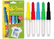 BLO pens Textile blowing markers 5 pcs