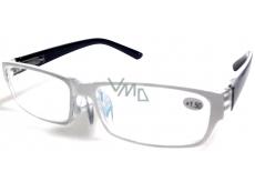 Glasses diop.plast + 0.5 white black side MC2062