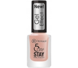 Dermacol 5 Day Stay Gel Effect long-lasting nail polish with gel effect 27 Parisien Chic 12 ml