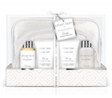 Baylis & Harding Urban Barn Orange, Bergamot and Bay leaves cleansing cleansing gel 100 ml + cleansing cream 100 ml + body cream 50 ml + hand cream 50 ml + toilet bag 2 pieces, cosmetic set