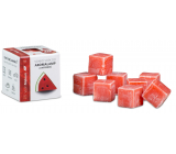 Cossack Watermelon natural fragrant wax for aroma lamps and interiors 8 cubes 30 g