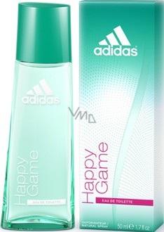 Montón de hombro Agencia de viajes  Adidas Happy Game EdT 50 ml eau de toilette Ladies - VMD parfumerie -  drogerie