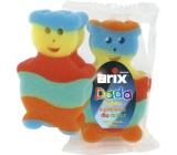 Arix Dada bath sponge various shapes 15 x 9 cm 1 piece