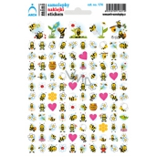 Arch School mini wasp stickers