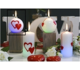 Lima Valentine's magic candle ball 80 mm 1 piece