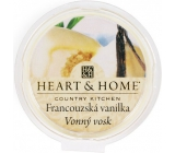 Heart & Home French Vanilla Soy natural scented wax 27 g