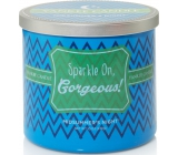 Yankee Candle Scentiments Sparkle On Gorgeous Tumbler Midsummer with Night - You're just a wonderful scented candle 283 g