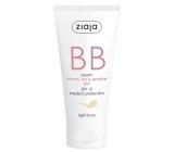 Ziaja BB krém normální, suchá a citlivá pleť SPF 15 01 Light 50 ml