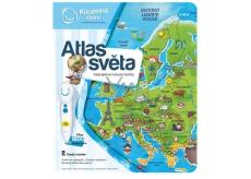 Albi Magic reading interactive talking book Atlas of the World, age 6+