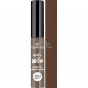 Essence Make Me Brow Eyebrow gel eyebrow mascara 05 Chocolaty Brows 3.8 ml