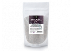 Allnature Himalayan black salt contains a high content of iron and other minerals 500 g