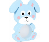 Albi Treasure chest wooden animal Rabbit blue 22 x 5 x max 22 cm