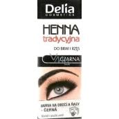 Delia Henna eyebrows and eyelashes black 2 g