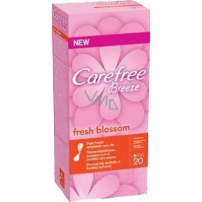 Carefree Breeze Fresh Blossom Brief Intimate Insole 20 pieces