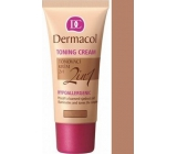 Dermacol Toning Cream 2v1 make-up Caramel 30 ml