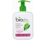 BioPha Měsíček lékařský + Pomerančový květ Gel bez mýdla pro intimní hygienu v biokvalitě dávkovač 200 ml