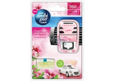 Ambi Pur Car Flowers and Spring kompletní strojek 7 ml