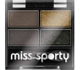 Miss Sports Studio Color Quattro Eyeshadow 414 100% Smokey 3.2 g