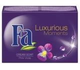 Fa Luxurious Moments Pink Viola toaletní mýdlo 90 g