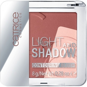 Catrice Light And Shadow Contouring Blush Blush 010 Bronze Me Up, Scotty! 8 g