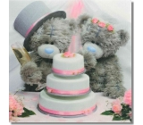 Me to You Congratulations to the envelope 3D Wedding bears with a 15.5 x 15.5 cm cata