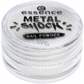 Essence Metal Shock Nail Powder pigment na nehty 01 Mirror, Mirror on the Nail 1 g