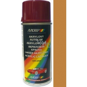 Motip Škoda Acrylic car paint spray SD 6520 Golden brown 150 ml