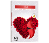 Bispol Aura Love - Love scented tealights 6 pieces