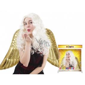 Long hair angel wig