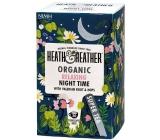 Heat & Heather Bio For good sleep Chamomile, mint, valerian, hops tea 20 bags x 1 g