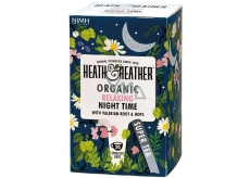 Heat & Heather Bio For good sleep Chamomile, mint, valerian, hops tea 20 bags x 1 g