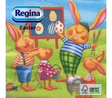 Regina Paper napkins 1 ply 33 x 33 cm 20 pieces Easter Bunnies
