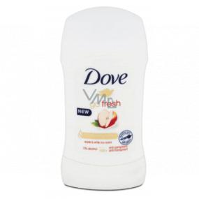 Dove Go Fresh Apple & White Tea solid antiperspirant deodorant stick with 48-hour effect for women 40 ml