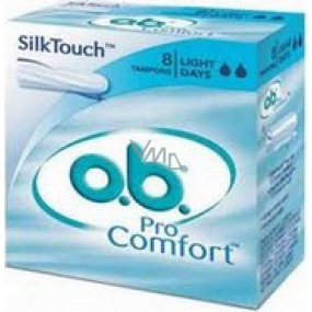 ob For Comfort Light Days swabs 8 pieces