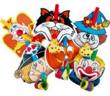Squirt with clown 6 pieces