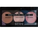 Gabriella Salvete Contouring Palette set to enhance facial contours 15 g