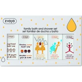 Ziaja Set of baby shower gels 5 pieces