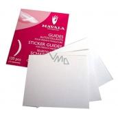 Mavala French Manicure Sticker Guides šablony pro francouzskou manikúru 120 kusů