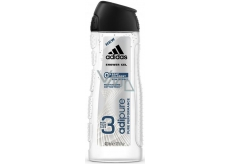 Adidas Adipure shower gel without soap ingredients and dyes for men 400 ml