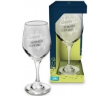 Albi Můj Bar Wine glass Great friend 270 ml