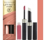 Max Factor Lipfinity Lipstick and Gloss 006 Always Delicate 2.3 ml and 1.9 g
