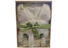 Baylis + Harding Gift set with bathrobe Oatmeal, milk and mde 4pcs 3232