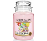 Yankee Candle Rainbow Shake - Rainbow cocktail scented candle Classic large glass 625 g Easter 2019