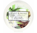 Heart & Home White tea and eucalyptus Soy natural fragrant wax 27 g
