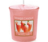 YANKEE CANDLES votive 49g White Strawberry Bellini 4284